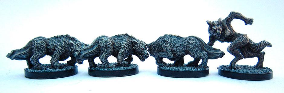 Castle Ravenloft miniatures