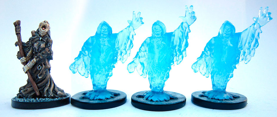 Castle Ravenloft miniatures