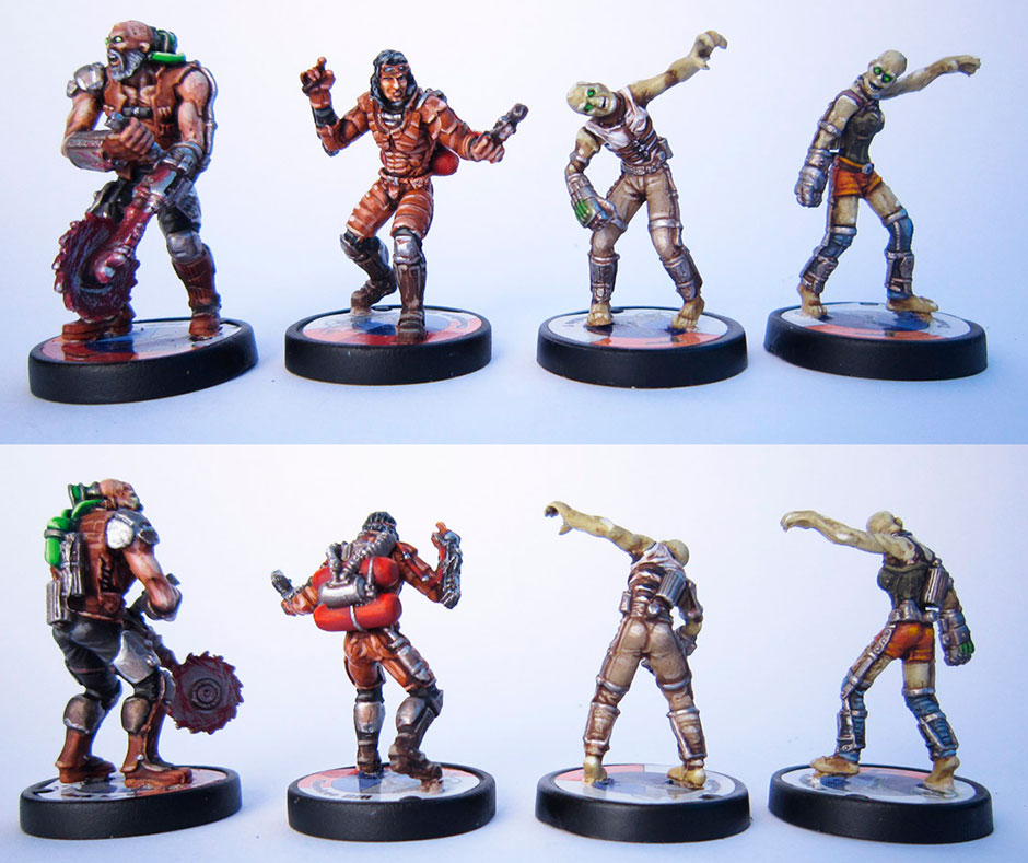 Earth Reborn miniatures