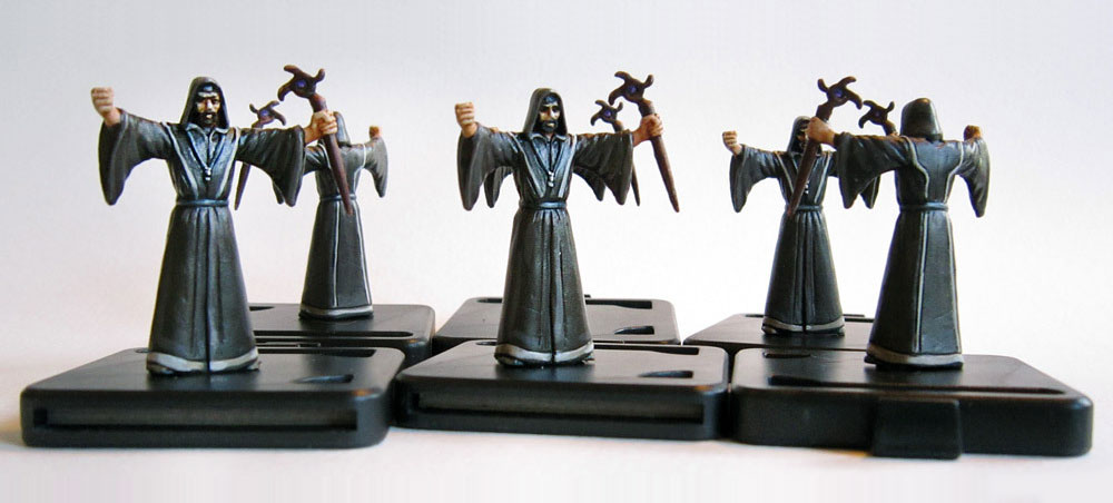 Mansions of Madness miniatures