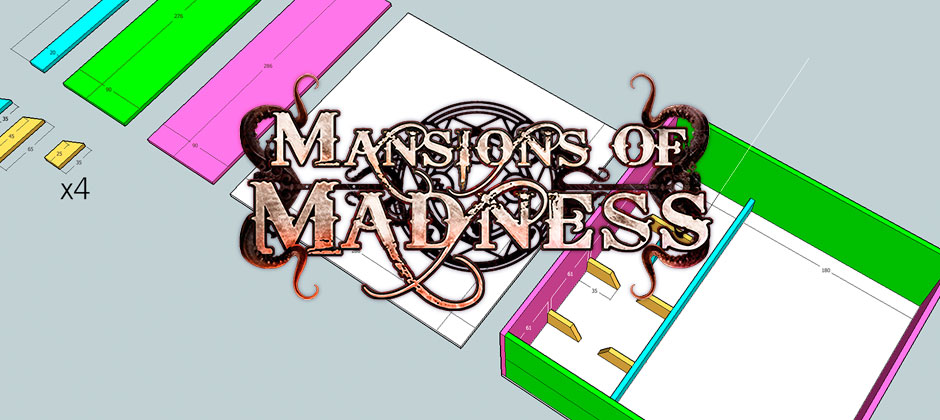 Mansions of Madness Foamcore