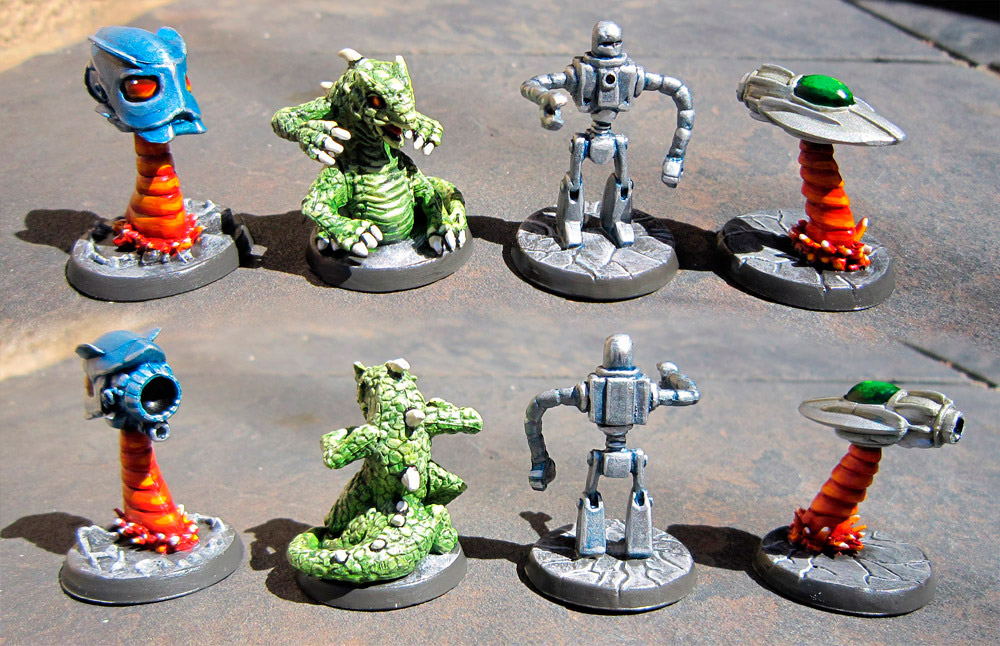 Conquest of Planet Earth miniatures