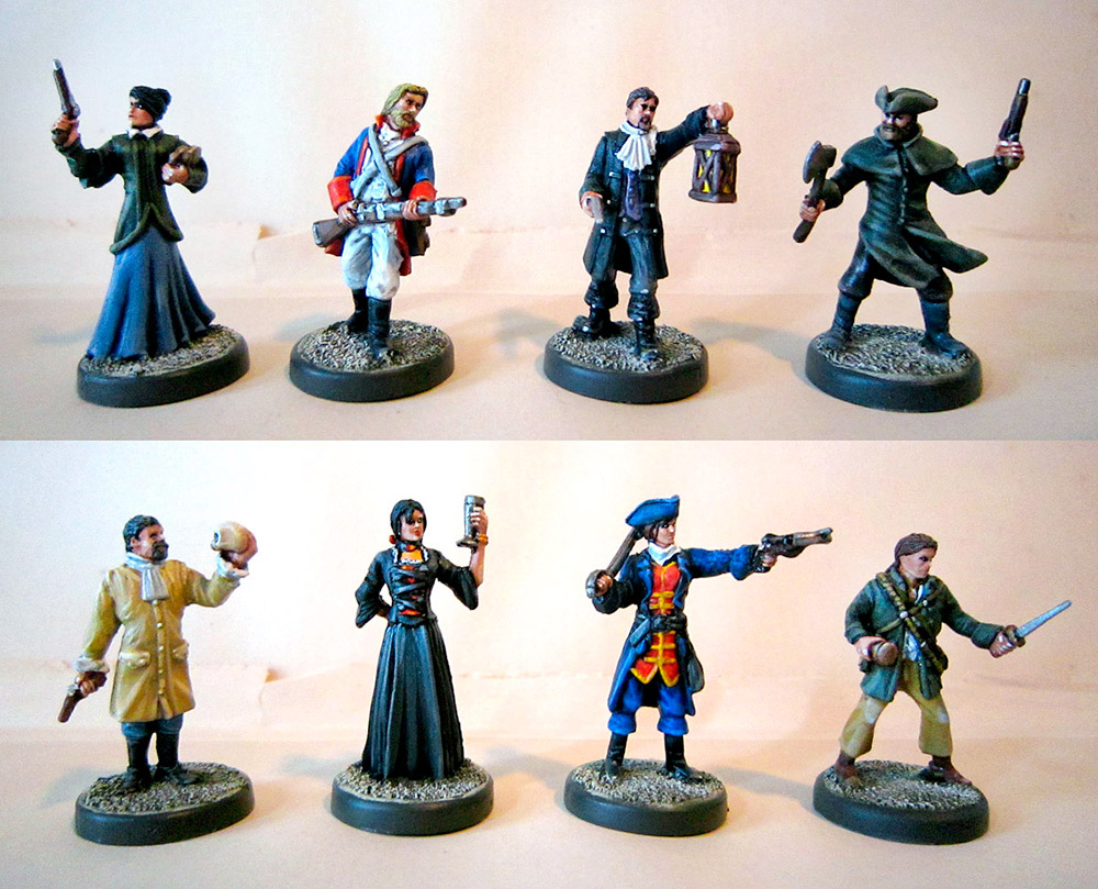 A Touch of Evil miniatures