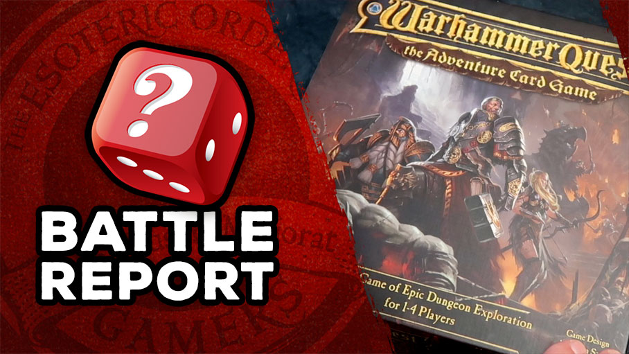 Warhammer Quest ACG Solo Battle Report