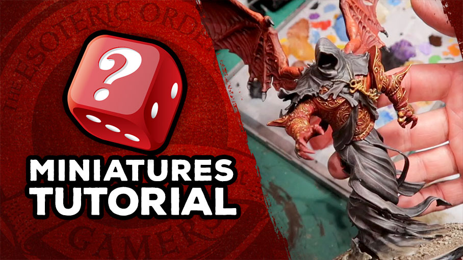 Bonus Video: Watch Me Paint Beli'al from Shadows of Brimstone
